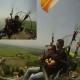 پرواز دو نفره paramotor